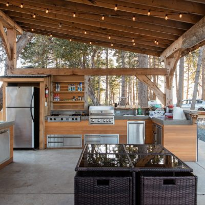 Shared Outdoor Kitchen